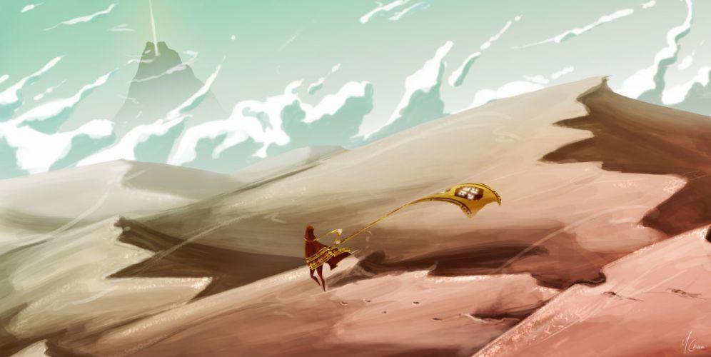 JOURNEY indie fantasy adventure family cartoon (52) wallpaper