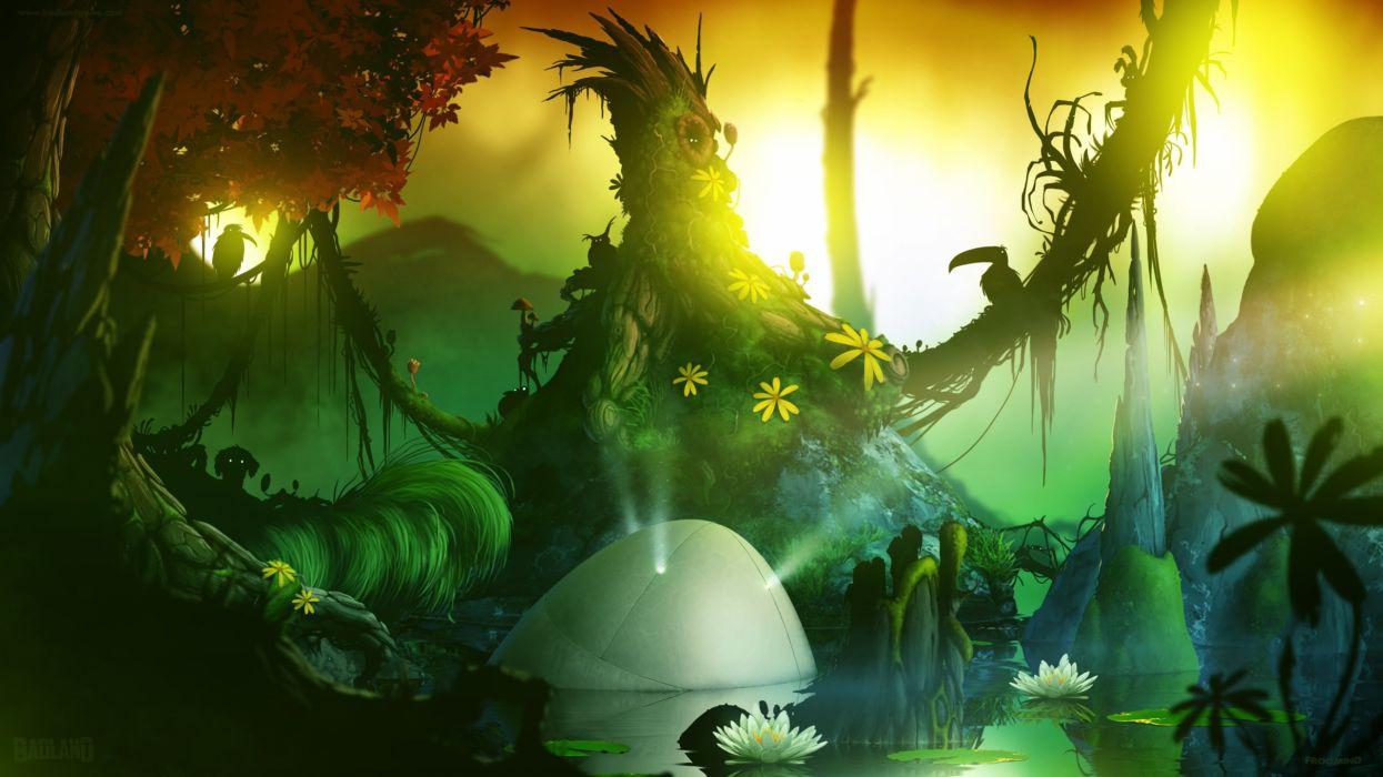 BADLAND action adventure tablet ipad android google family fantasy phone sci-fi (52) wallpaper
