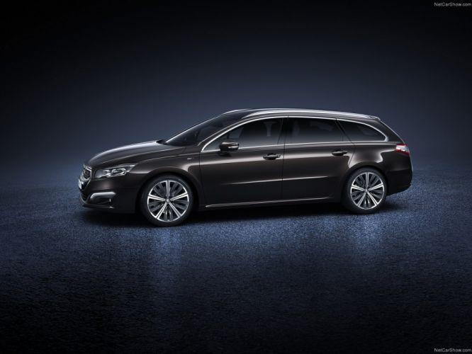 2014-Peugeot-508-SW wallpaper
