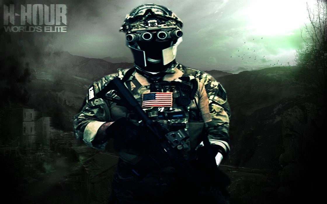 H HOUR WORLDS ELITE Shooter Military Tactical Action Warrior Sci Fi Socom 13
