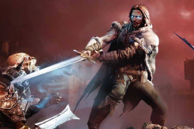MIDDLE EARTH SHADOW MORDOR action adventure fantasy lotr lord rings warrior online (15) wallpaper