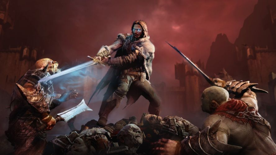 MIDDLE EARTH SHADOW MORDOR action adventure fantasy lotr lord rings warrior online (27) wallpaper