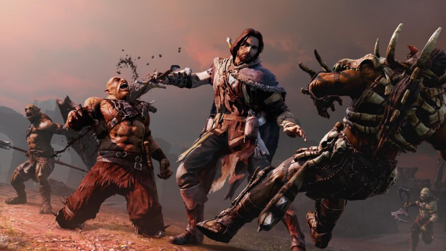 MIDDLE EARTH SHADOW MORDOR action adventure fantasy lotr lord rings warrior online (38) wallpaper