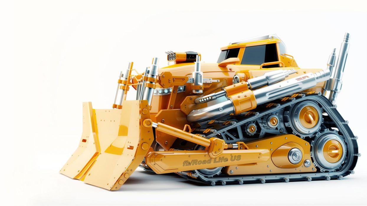 bulldozer wallpaper