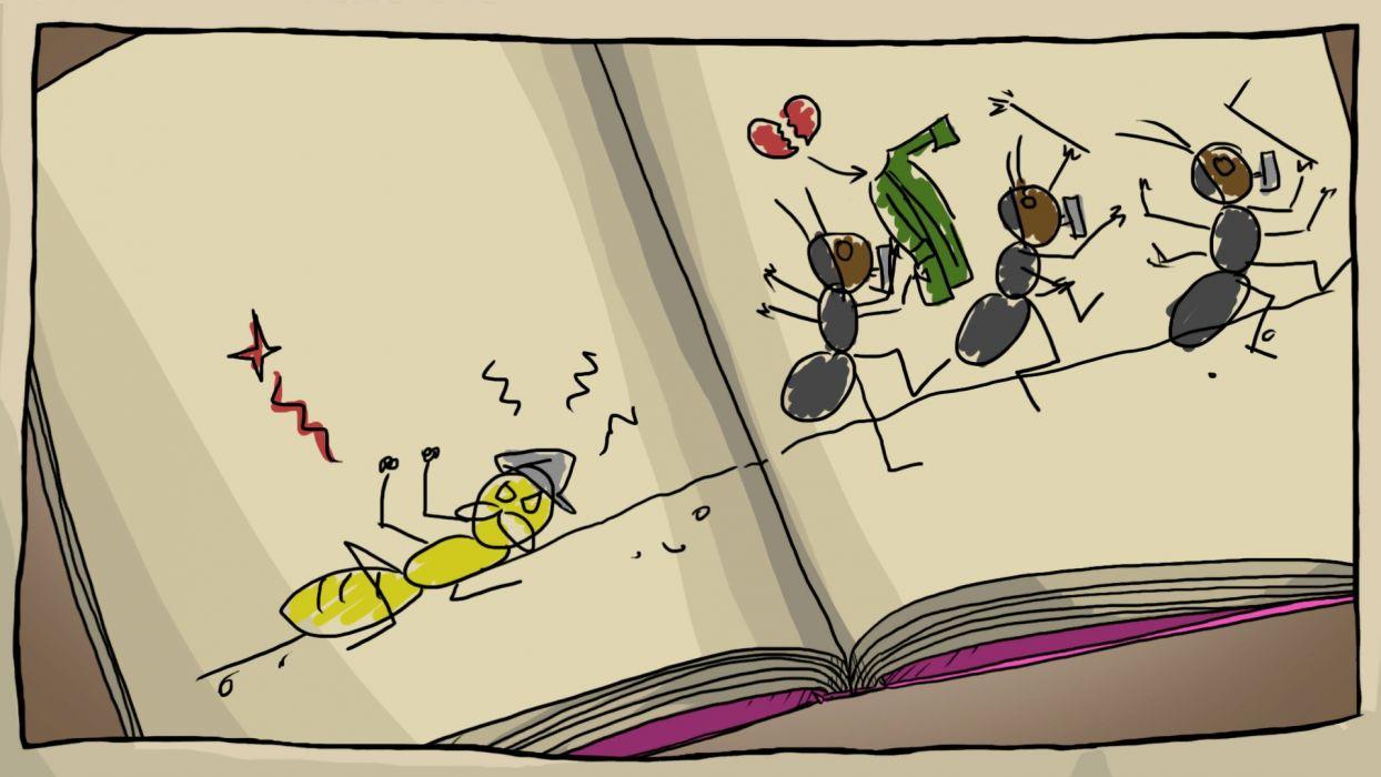 JOURNEY-OF-A-ROACH adventure family cartoon 3-d journey roach (2) wallpaper