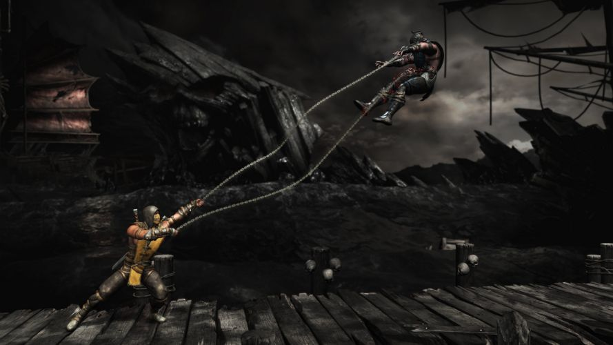 MORTAL KOMBAT X fighting fantasy warrior action (4) wallpaper