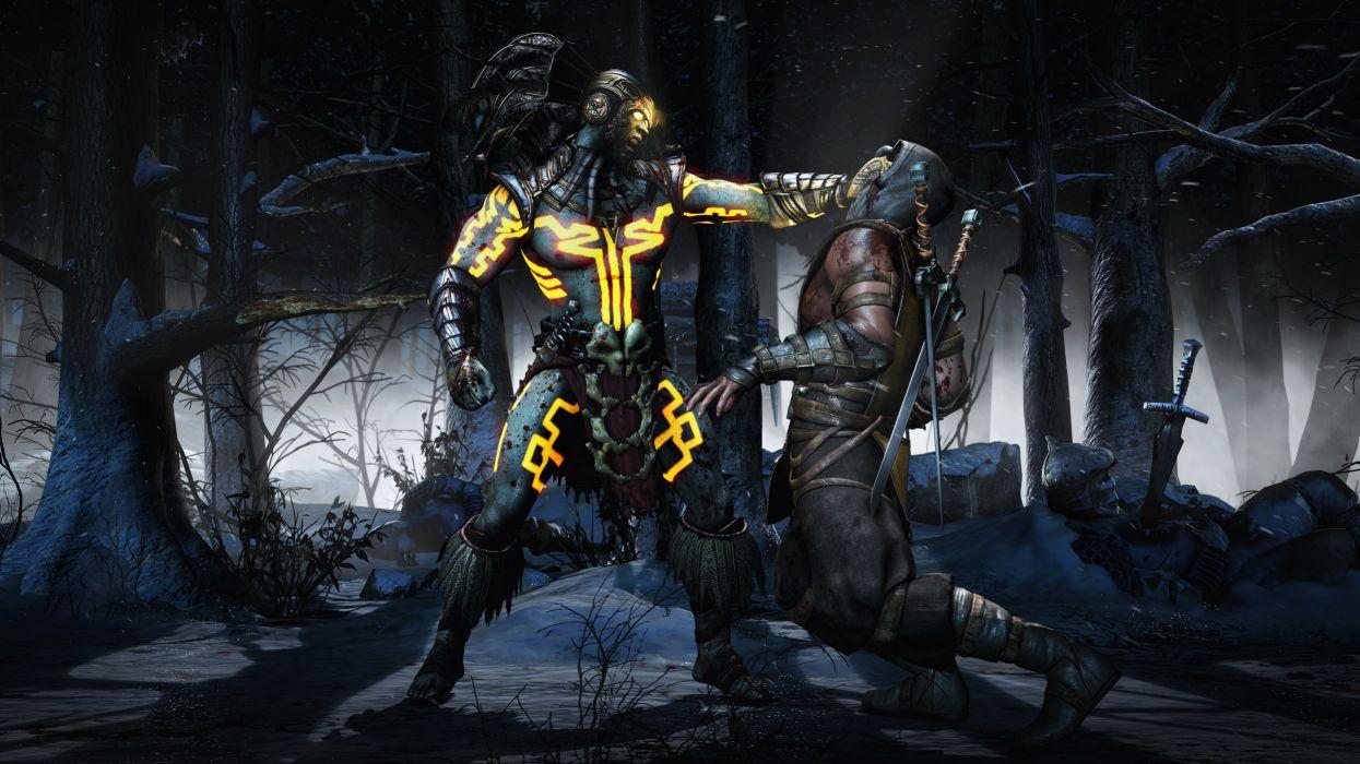 MORTAL KOMBAT X fighting fantasy warrior action (3) wallpaper