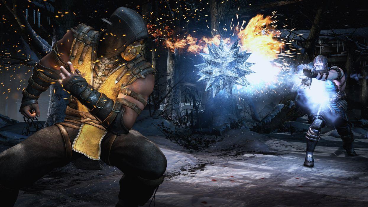 MORTAL KOMBAT X fighting fantasy warrior action (6) wallpaper