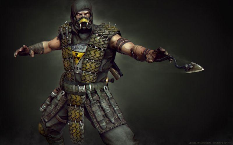 MORTAL KOMBAT X fighting fantasy warrior action (10) wallpaper