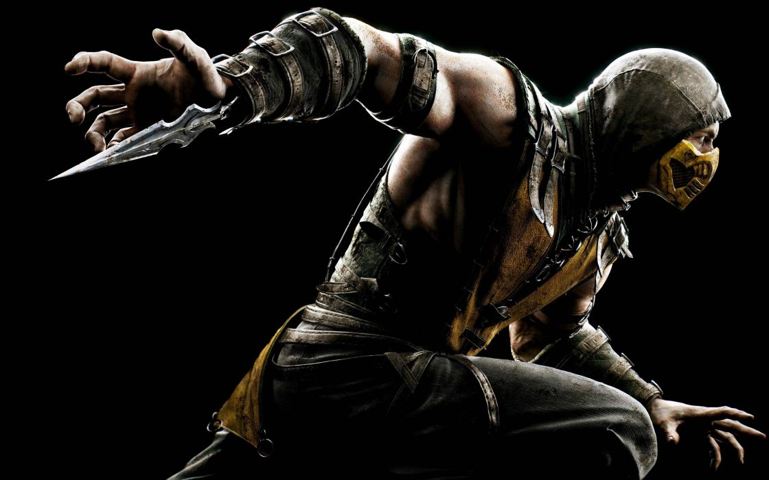 MORTAL KOMBAT X fighting fantasy warrior action (12) wallpaper