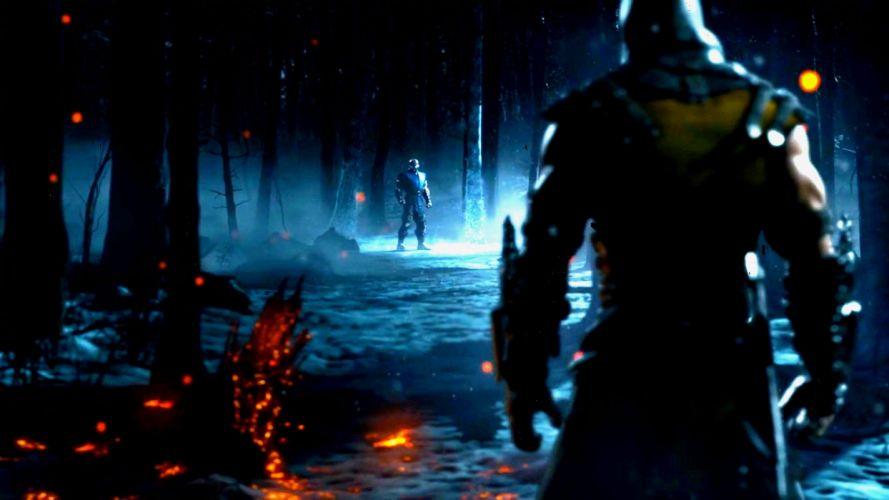 MORTAL KOMBAT X fighting fantasy warrior action (14) wallpaper