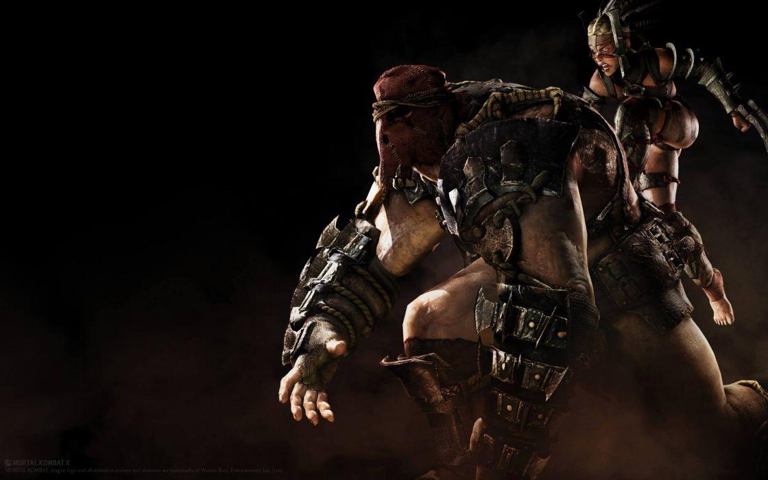 MORTAL KOMBAT X fighting fantasy warrior action (19) wallpaper