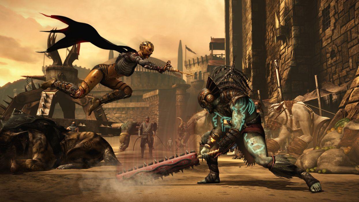 MORTAL KOMBAT X fighting fantasy warrior action (27) wallpaper