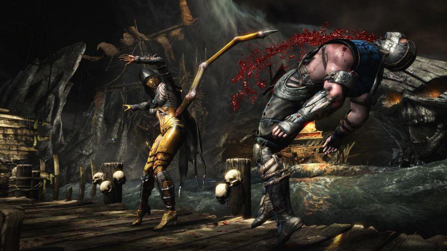 MORTAL KOMBAT X fighting fantasy warrior action (28) wallpaper