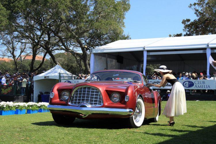 1952 Chrysler d'Elegance Car Vehicle Classic Retro Sport Supercar 1536x1024 (1) wallpaper