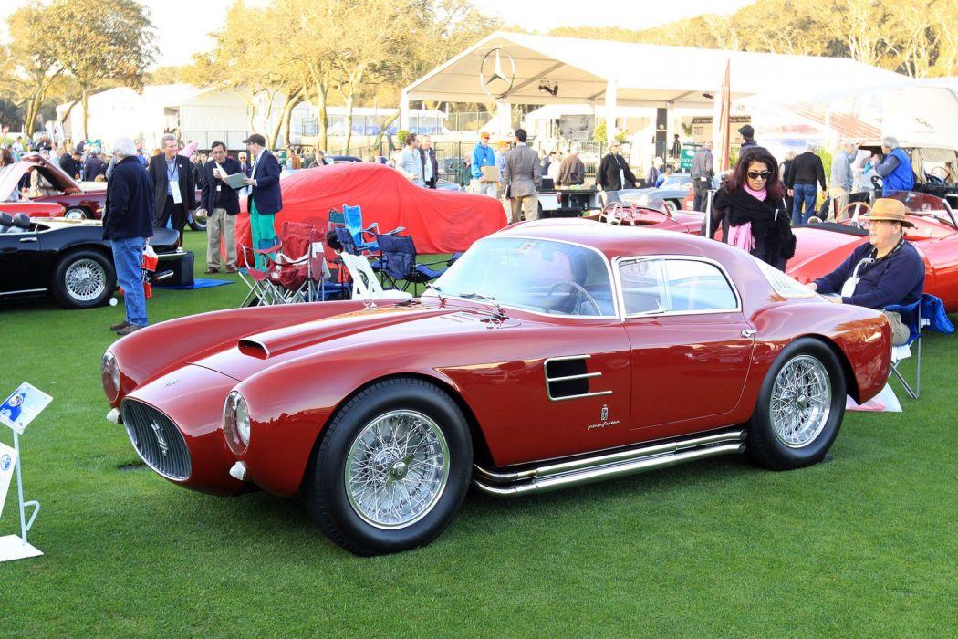 1954 Maserati A6GCS-53 Berlinetta Car Vehicle Classic Retro Sport Supercar Italy Red 1536x1024 (1) wallpaper