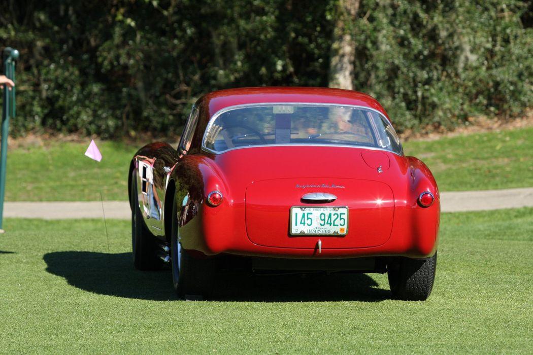 1954 Maserati A6GCS-53 Berlinetta Car Vehicle Classic Retro Sport Supercar Italy Red 1536x1024 (3) wallpaper