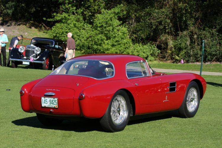 1954 Maserati A6GCS-53 Berlinetta Car Vehicle Classic Retro Sport Supercar Italy Red 1536x1024 (4) wallpaper