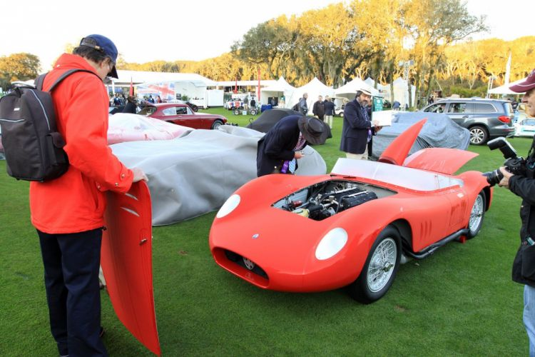 1957 Maserati 200SI Car Vehicle Classic Retro Sport Supercar Race Red Italy Racing 1536x1024 (1) wallpaper