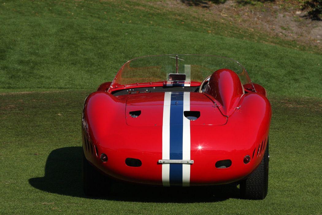 1956 Maserati 350S Car Race Red Racing Italy Vehicle Classic Retro Sport Supercar 1536x1024 (3) wallpaper