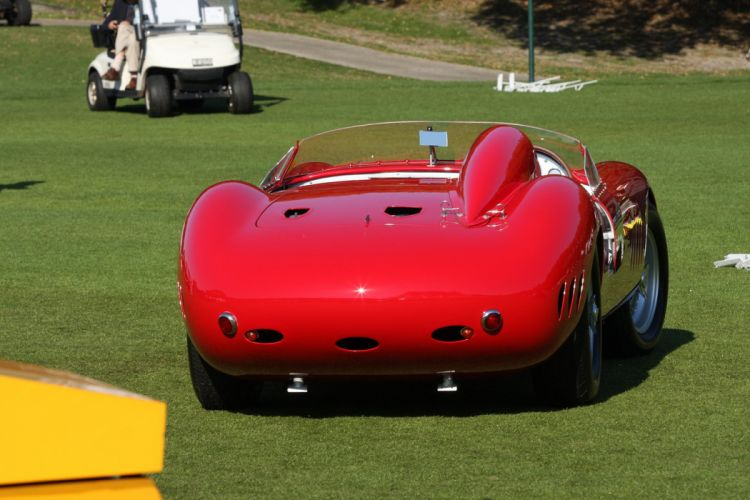 1957 Maserati 300S Race Red Italy Racing Car Vehicle Classic Retro Sport Supercar 1536x1024 (5) wallpaper