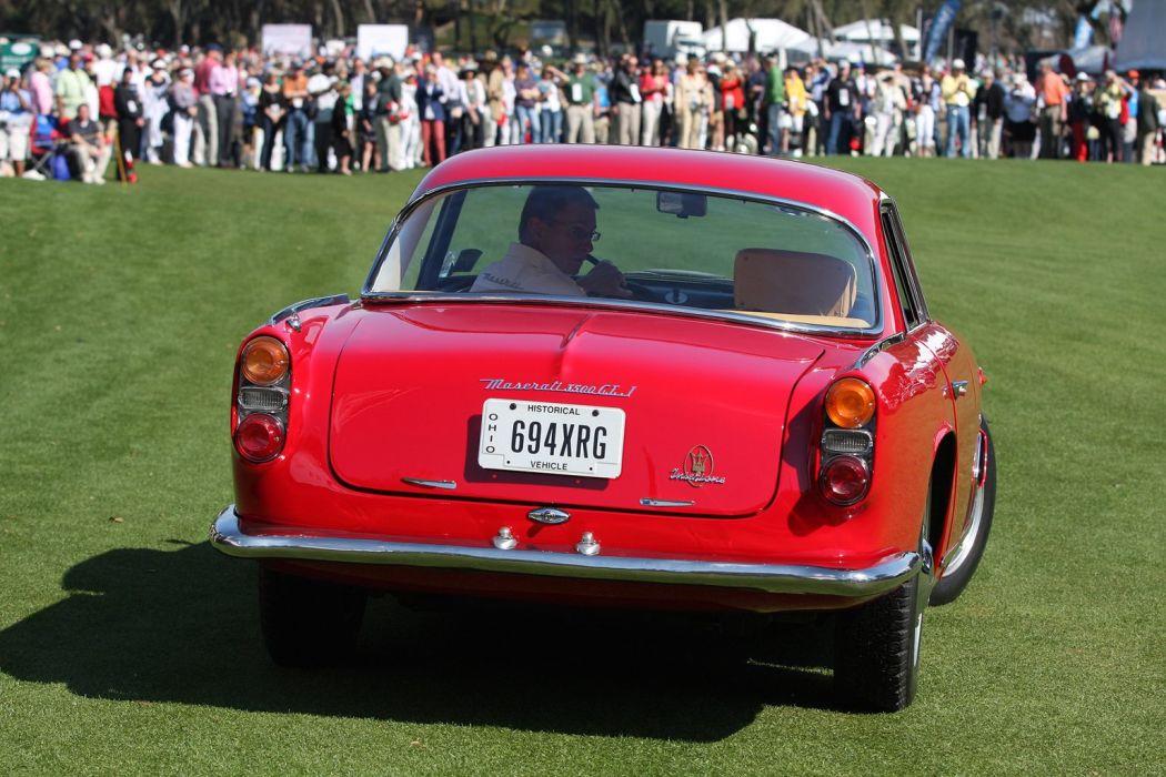1963 Maserati 3500 GTI Red Car Vehicle Classic Retro Sport Supercar Italy 1536x1024 (3) wallpaper