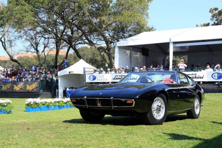 1967 Maserati Ghibli Black Car Vehicle Classic Retro Sport Supercar Italy 1536x1024 (1) wallpaper