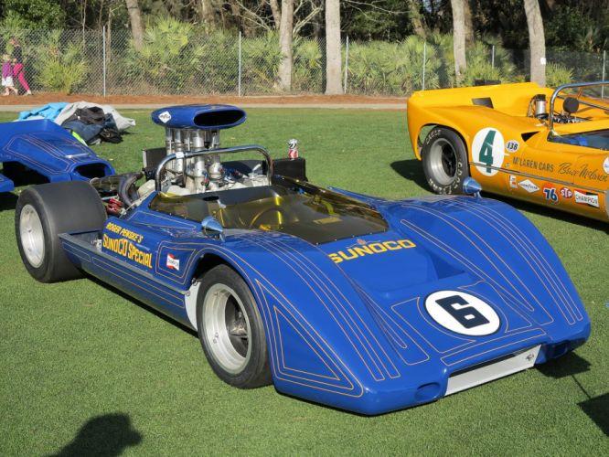 1967 McLaren M6A-3 Race Racing Car Vehicle Classic Retro Sport Supercar 1536x1024 (3) wallpaper