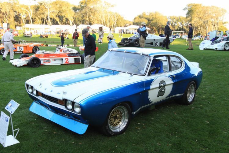 1972 Ford Cologne Capri MK1 Race Racing Car Vehicle Classic Retro Sport Supercar 1536x1024 (1) wallpaper