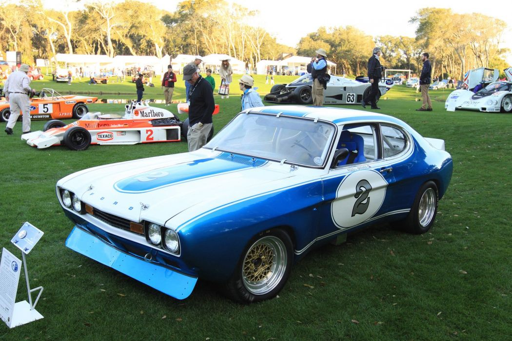 1972 Ford Cologne Capri MK1 Race Racing Car Vehicle Classic Retro Sport Supercar 1536x1024 (1) wallpaper