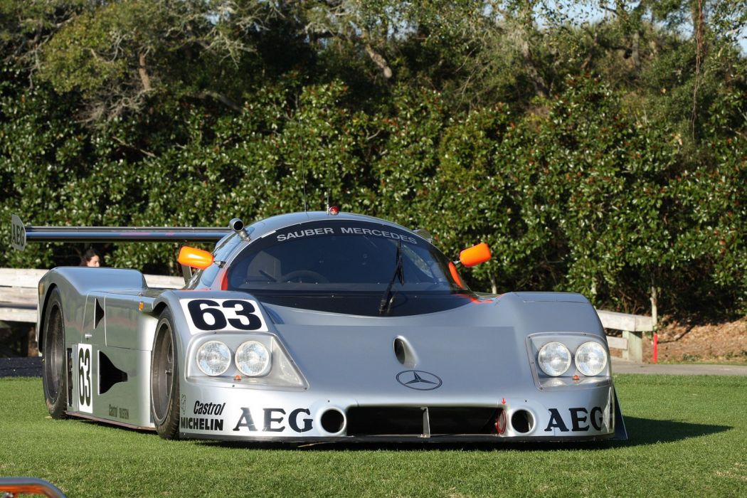 1989 Sauber Mercedes-C9 Race Car Classic Vehicle Racing Germany Le-Mans LMP1 1536x1024 (2) wallpaper