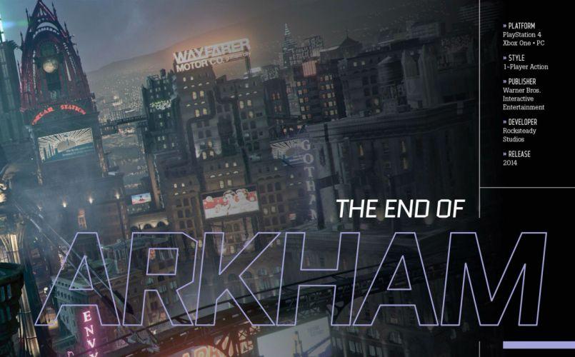 BATMAN ARKHAM KNIGHT action adventure superhero comic dark knight warrior fantasy sci-fi comics (9) wallpaper