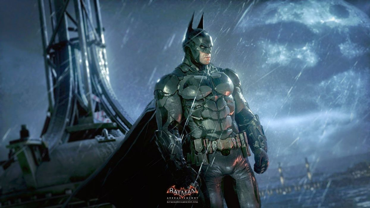 BATMAN ARKHAM KNIGHT action adventure superhero comic dark knight warrior fantasy sci-fi comics (12) wallpaper