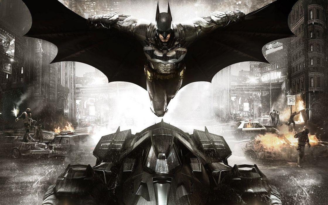 BATMAN ARKHAM KNIGHT action adventure superhero comic dark knight warrior fantasy sci-fi comics (65) wallpaper