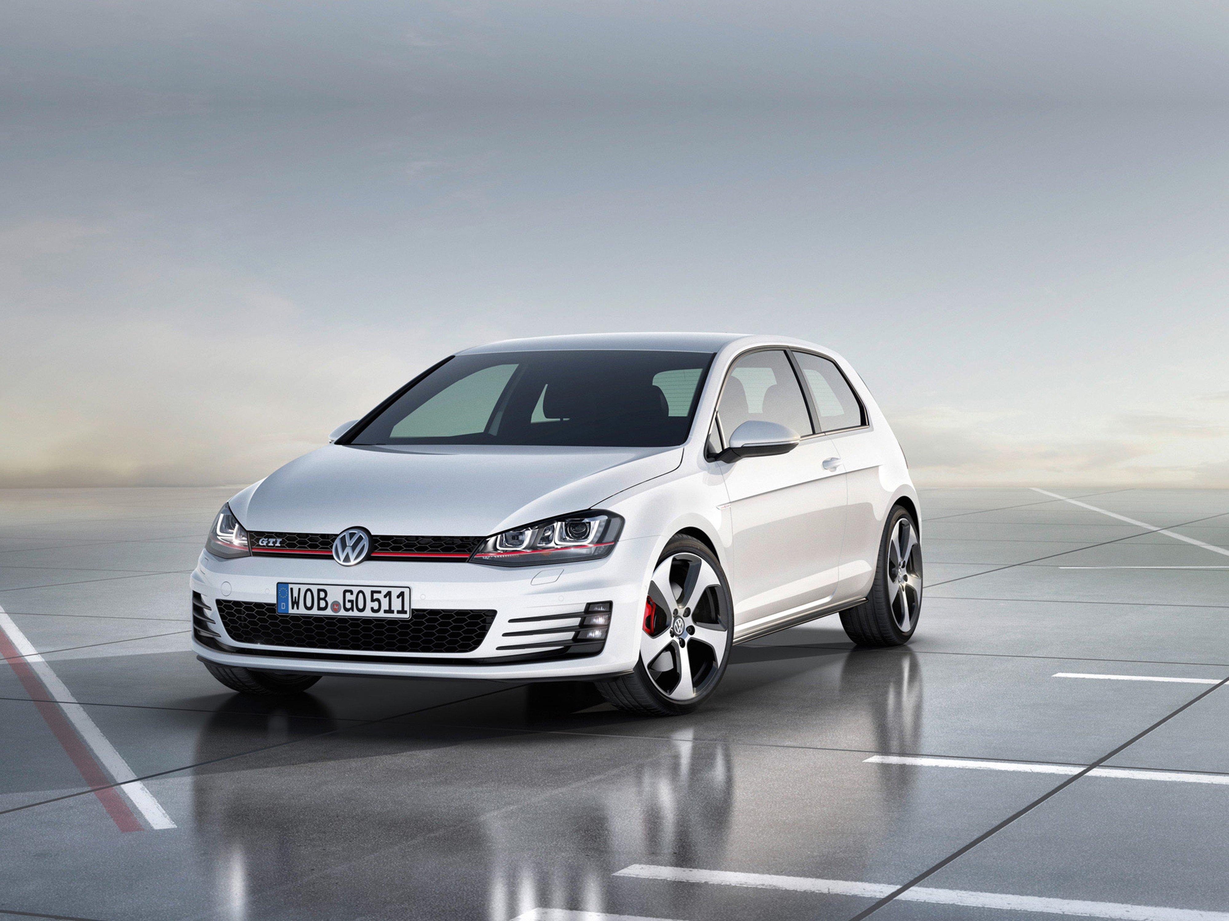 volkswagen golf gti concept car vehicle germany   wallpaper