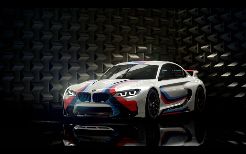 2014 BMW Vision Gran-Turismo Concept Race Car Game Vehicle Racing Germany 4000x2500 (1) wallpaper