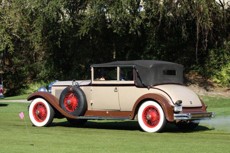1929 Stearns-Knight J-Series Convertible Roadster Car Vehicle Classic Retro Sport Supercar 1536x1024 (2) wallpaper