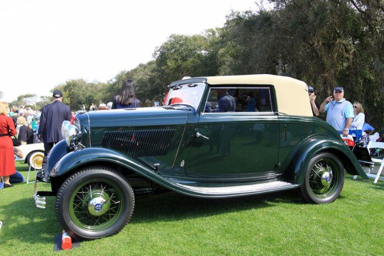 1932 Ford V8-Pinin-Farina Cabriolet Car Vehicle Classic Retro Sport Supercar 1536x1024 (4) wallpaper