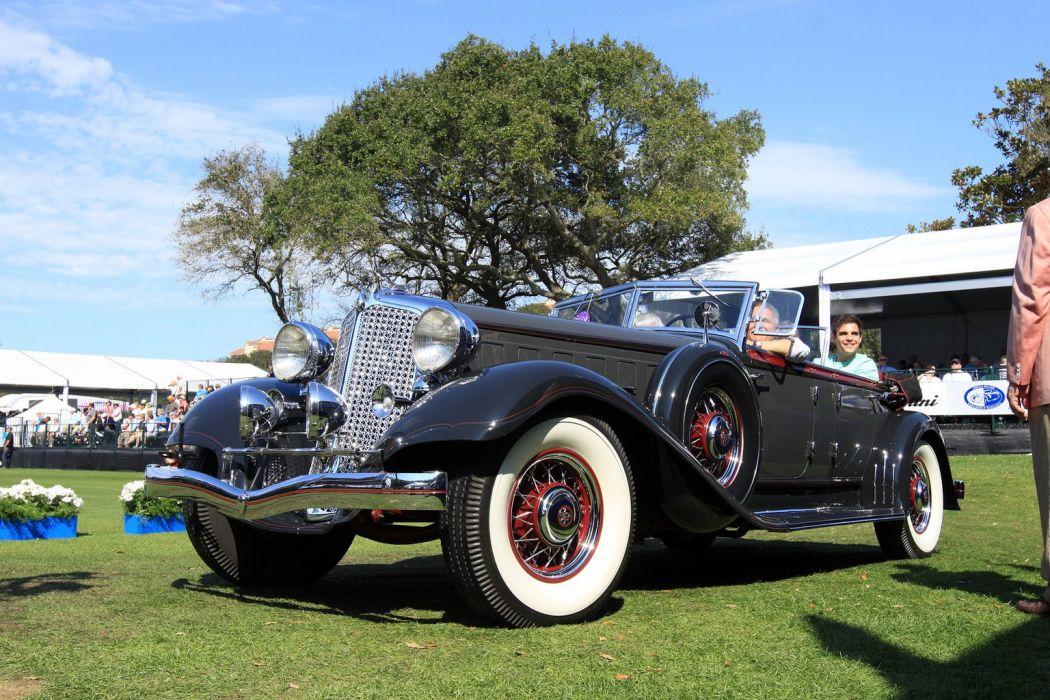 1933 Chrysler CL-Imperial Lebaron Sport Phaeton Car Vehicle Classic Retro Sport Supercar 1536x1024 (2) wallpaper