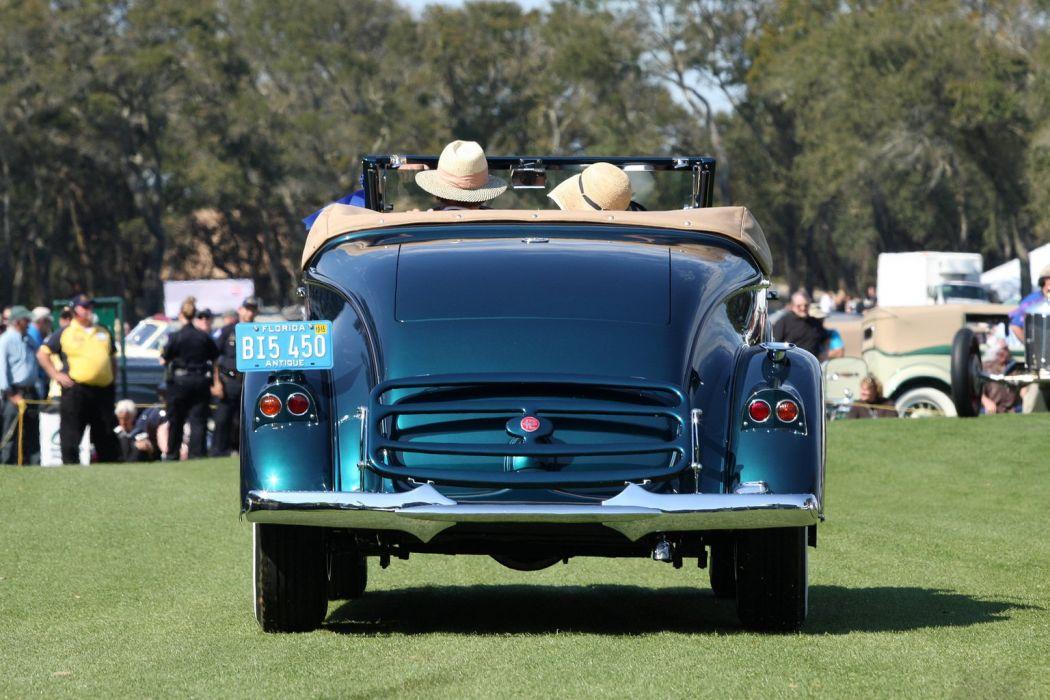 1935 Pierce Arrow 1245 Convertible Coupe Car Vehicle Classic Retro Sport Supercar 1536x1024 (3) wallpaper