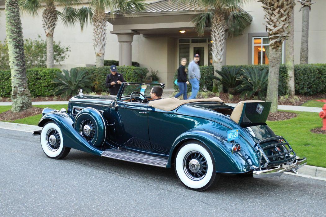 1935 Pierce Arrow 1245 Convertible Coupe Car Vehicle Classic Retro Sport Supercar 1536x1024 (4) wallpaper