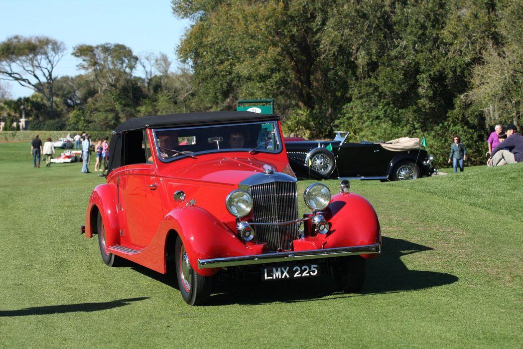 1936 Railton Fairmile Red Car Vehicle Classic Retro Sport Supercar 1536x1024 (1) wallpaper