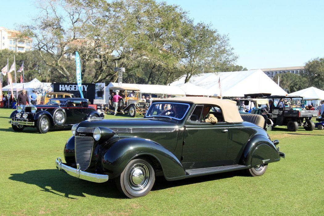 1937 Chrysler Imperial Convertible C-14 Car Vehicle Classic Retro Sport Supercar 1536x1024 (1) wallpaper