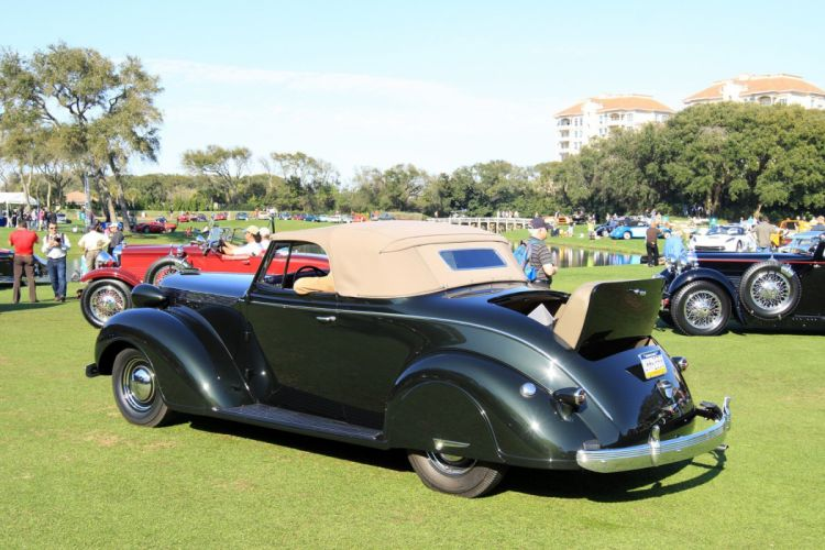 1937 Chrysler Imperial Convertible C-14 Car Vehicle Classic Retro Sport Supercar 1536x1024 (2) wallpaper