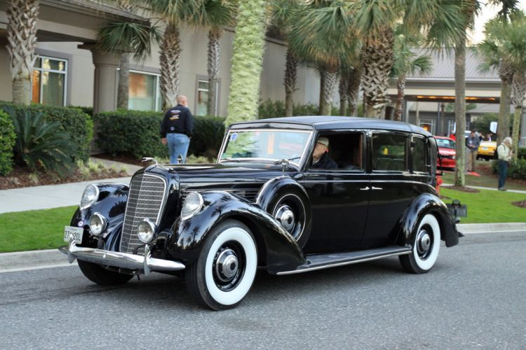 1938 Lincoln K 7-Passenger Semi-Collapsible Limousine Car Vehicle Classic Retro Sport Supercar 1536x1024 (1) wallpaper