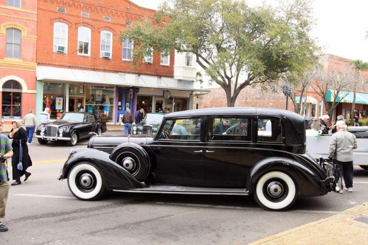 1938 Lincoln K 7-Passenger Semi-Collapsible Limousine Car Vehicle Classic Retro Sport Supercar 1536x1024 (2) wallpaper