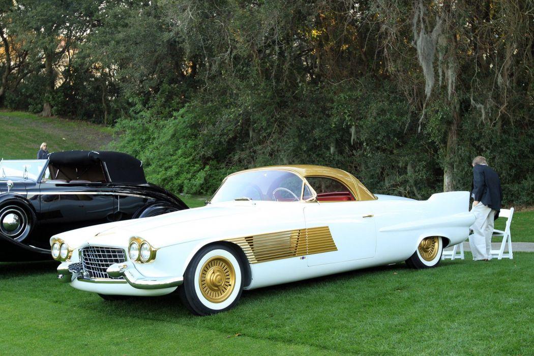 1955 Cadillac Special Car Vehicle Classic Retro Sport Supercar Gold 1536x1024 (1) wallpaper