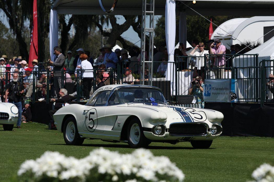 Alan-Green Chevrolet 1962 Chevrolet Corvette Race Racing Car Vehicle Classic Retro Sport Supercar 1536x1024 (3) wallpaper