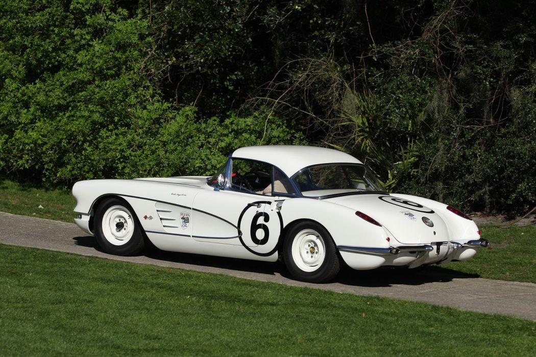 RRR Motors 1960 Chevrolet Corvette Race Racing Car Vehicle Classic Retro Sport Supercar 1536x1024 (2) wallpaper