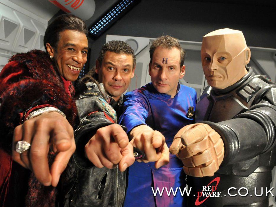 RED DWARF series comedy sci-fi fantasy bbc (6) wallpaper